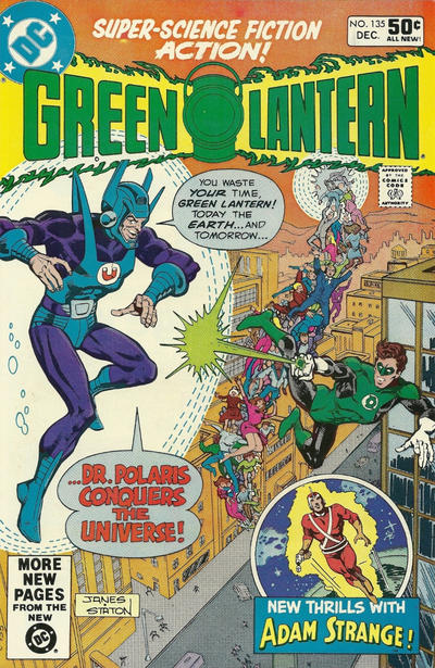 Cover for Green Lantern (DC, 1960 series) #135 [Direct Sales]