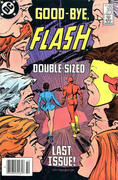 Cover for The Flash (DC, 1959 series) #350 [Direct Sales]