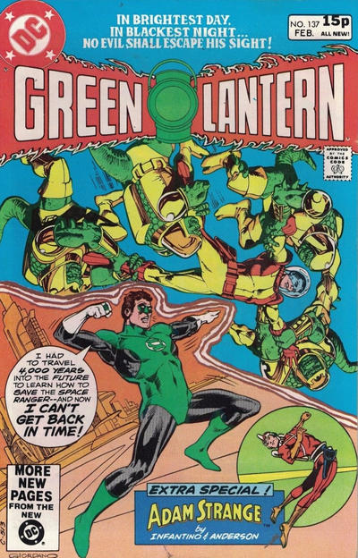 Cover for Green Lantern (DC, 1960 series) #137 [Direct Sales]