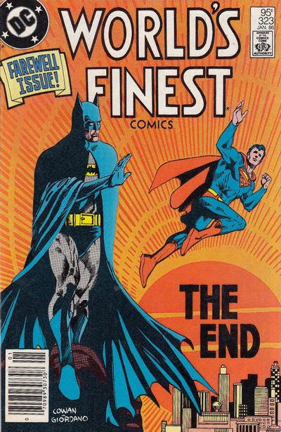 Cover for World's Finest Comics (DC, 1941 series) #323 [Canadian]