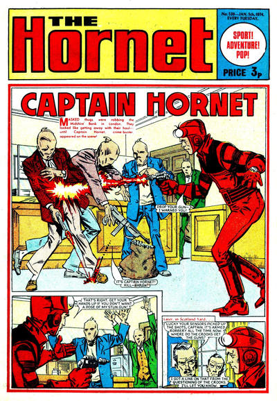 Cover for The Hornet (D.C. Thomson, 1963 series) #539