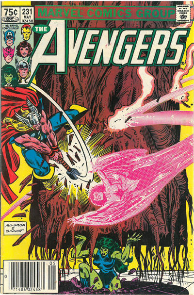 Cover for The Avengers (Marvel, 1963 series) #231 [Direct Edition]