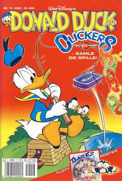 Cover for Donald Duck & Co (Hjemmet / Egmont, 1948 series) #13/2005
