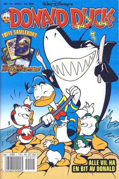 Cover for Donald Duck & Co (Hjemmet / Egmont, 1948 series) #15/2005