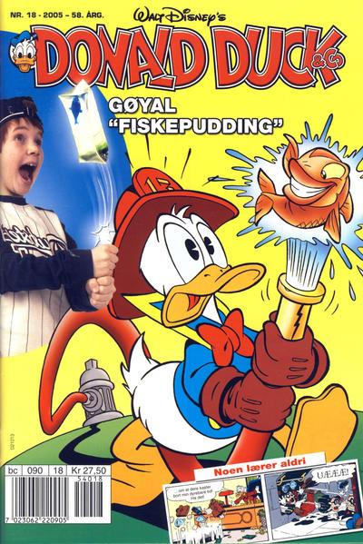 Cover for Donald Duck & Co (Hjemmet / Egmont, 1948 series) #18/2005