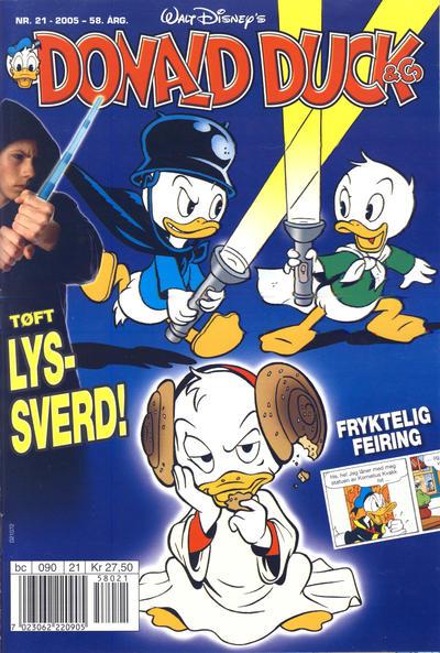 Cover for Donald Duck & Co (Hjemmet / Egmont, 1948 series) #21/2005