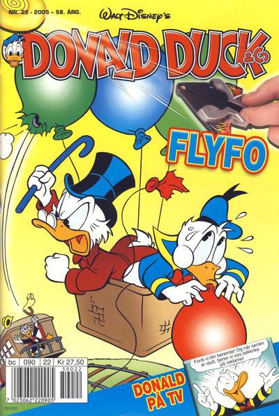 Cover for Donald Duck & Co (Hjemmet / Egmont, 1948 series) #22/2005