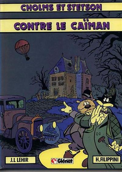 Cover for Cholms et Stetson (Glénat, 1982 series) #2 - Cholms et Stetson contre le Caïman