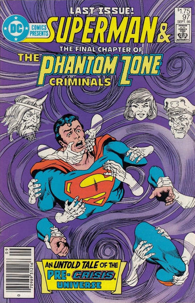 Cover for DC Comics Presents (DC, 1978 series) #97 [Canadian]