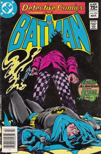 Cover for Detective Comics (DC, 1937 series) #524 [Direct-Sales]