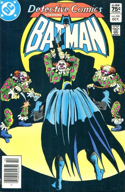 Cover for Detective Comics (DC, 1937 series) #531 [Canadian]