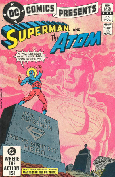 Cover for DC Comics Presents (DC, 1978 series) #51 [Direct]