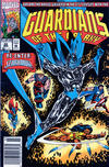 Cover for Guardians of the Galaxy (Marvel, 1990 series) #22 [Newsstand]