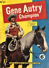 Cover for Gene Autry and Champion (World Distributors, 1956 series) #21