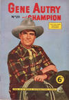 Cover for Gene Autry and Champion (World Distributors, 1956 series) #20