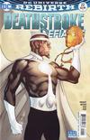 Cover for Deathstroke (DC, 2016 series) #22 [Shane Davis / Michelle Delecki Cover]