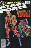 Cover Thumbnail for Atari Force (1984 series) #20 [Newsstand]