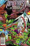 Cover for Amethyst, Princess of Gemworld (DC, 1983 series) #10 [Newsstand]