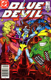 Cover Thumbnail for Blue Devil (1984 series) #11 [Canadian Newsstand]