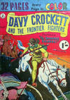 Cover for Davy Crockett and the Frontier Fighters (K. G. Murray, 1955 series) #9
