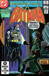 Cover Thumbnail for Detective Comics (DC, 1937 series) #520 [Direct Sales]