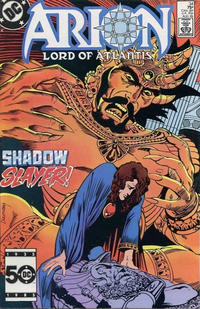 Cover Thumbnail for Arion, Lord of Atlantis (DC, 1982 series) #34 [Direct]