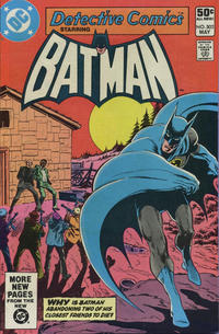 Cover Thumbnail for Detective Comics (DC, 1937 series) #502 [Direct]