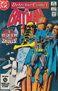 Cover Thumbnail for Detective Comics (DC, 1937 series) #528 [Direct-Sales]