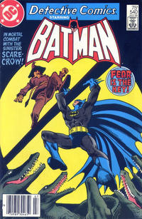 Cover for Detective Comics (DC, 1937 series) #540 [Direct]