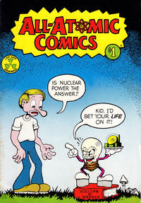 Cover Thumbnail for All-Atomic Comics (Educomics, 1976 series) #[nn] [Fourth Printing]