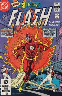 Cover Thumbnail for The Flash (DC, 1959 series) #312 [Direct]