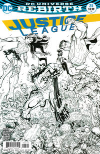 Cover Thumbnail for Justice League (DC, 2016 series) #25 [Nick Bradshaw Cover]