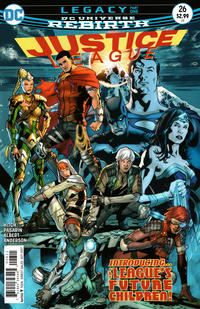 Cover Thumbnail for Justice League (DC, 2016 series) #26