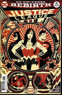 Cover Thumbnail for Justice League (DC, 2016 series) #26 [Yanick Paquette Cover]