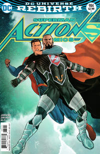 Cover Thumbnail for Action Comics (DC, 2011 series) #984 [Mikel Janín Cover]