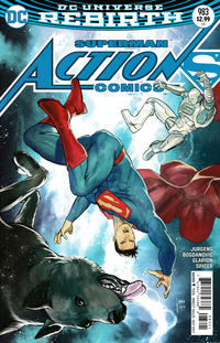 Cover Thumbnail for Action Comics (DC, 2011 series) #983 [Mikel Janín Cover]