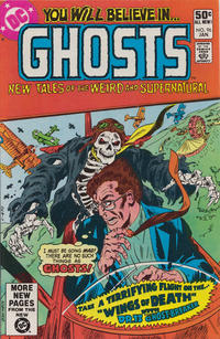 Cover Thumbnail for Ghosts (DC, 1971 series) #96 [Direct]