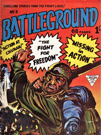 Cover Thumbnail for Battleground (L. Miller & Son, 1959 series) #3