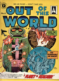 Cover Thumbnail for Out of This World (Thorpe & Porter, 1961 ? series) #6