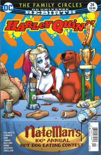 Cover Thumbnail for Harley Quinn (DC, 2016 series) #24 [Newsstand]