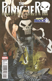 Cover Thumbnail for The Punisher (Marvel, 2016 series) #1 [Comic Block Exclusive - Chris Stevens]
