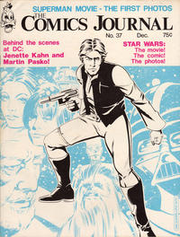 Cover Thumbnail for The Comics Journal (Fantagraphics, 1977 series) #37
