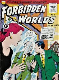 Cover Thumbnail for Forbidden Worlds (Thorpe & Porter, 1950 ? series) #1