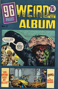 Cover Thumbnail for Weird Mystery Tales Album (K. G. Murray, 1978 series) #7