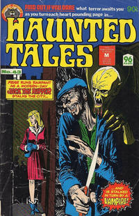 Cover Thumbnail for Haunted Tales (K. G. Murray, 1973 series) #43
