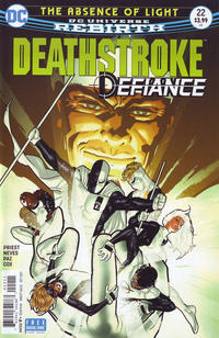 Cover Thumbnail for Deathstroke (DC, 2016 series) #22