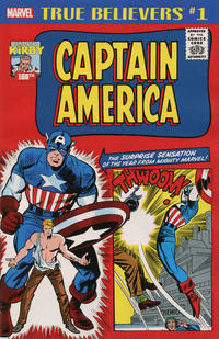 Cover Thumbnail for True Believers: Kirby 100th - Captain America (Marvel, 2017 series) #1