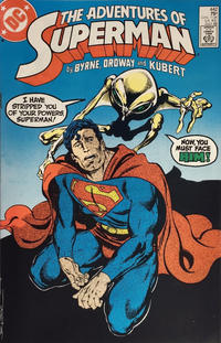 Cover Thumbnail for Adventures of Superman (DC, 1987 series) #442 [Direct Sales]