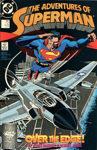 Cover Thumbnail for Adventures of Superman (DC, 1987 series) #447 [Direct]