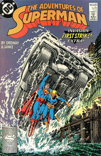 Cover Thumbnail for Adventures of Superman (DC, 1987 series) #449 [Direct]